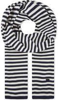 Claudie Pierlot Aurel striped scarf