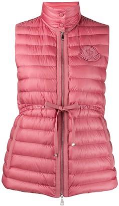 Moncler Pink Azur Gilet Vest