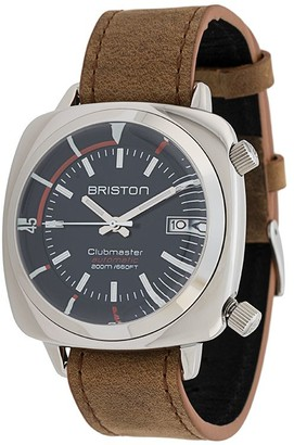 Briston Watches Clubmaster diver polished steel watch