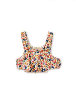 Tea Collection Flutter Bikini Top With Ruffled Bikini Bottom Set