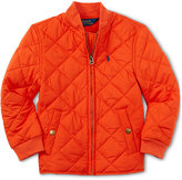 Ralph Lauren Little Boys' Diamond-Quilted Baseball Jacket