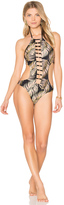 Beach Bunny Basic Skimpy One Piece Swimsuit