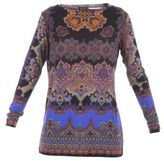 Etro Viscosa Jersey Sweater