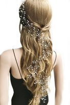 Missgrace Crystal Cluster Bridal Wedding Headband -Wedding hair Accessorice