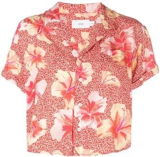 Onia floral print shirt