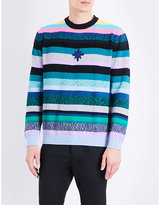 Kenzo Striped Cotton-blend Jumper