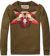 Scotch & Soda Patched Artwork Sweater