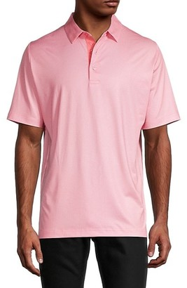 Callaway Swing Tech Gingham Golf Polo