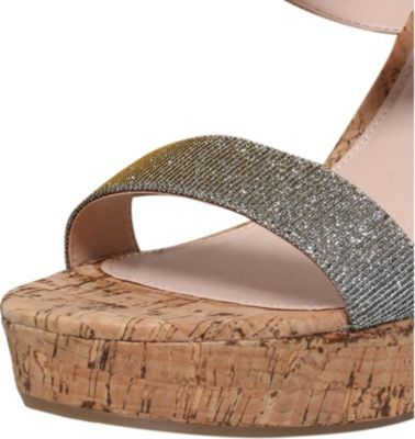 Carvela Kay metallic wedge sandals