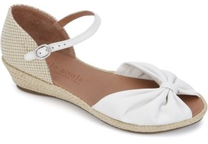 Gentle Souls by Kenneth Cole Women's Lucille Wedge Sandals Women's Shoes