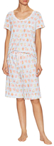 Midnight by Carole Hochman Strawberry Pajama Set
