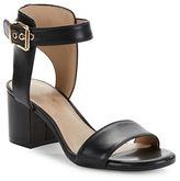 424 Fifth Harriet Leather Open Toe Sandals