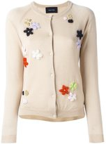 Simone Rocha floral embroidery cardigan