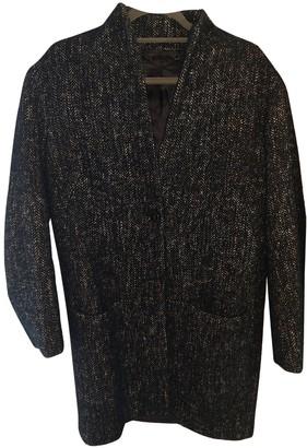 Jigsaw Navy Wool Coats