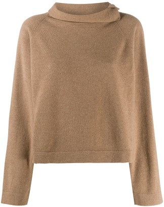 Fabiana Filippi Funnel-Neck Jumper