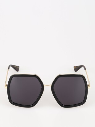 Gucci Hexagon Sunglasses