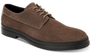 Calvin Klein Men's Rickie Plain-Toe Suede Oxfords Men's Shoes