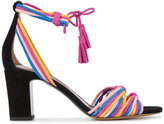Tabitha Simmons woven strappy sandals - women - Leather/Suede - 35