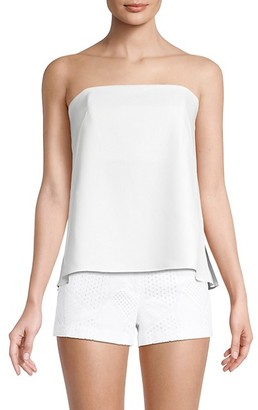 Milly Cascade Strapless Top