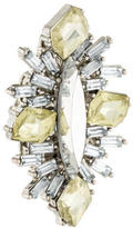 Erickson Beamon Crystal Cocktail Ring