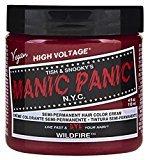 Manic Panic Semi-Permament Haircolor Widfire 4oz Jar (3 Pack)
