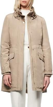 Andrew Marc Insulated Raincoat
