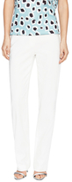 Escada Cotton Straight Leg Pant