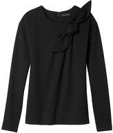 Banana Republic Bow-Neck Couture Sweatshirt
