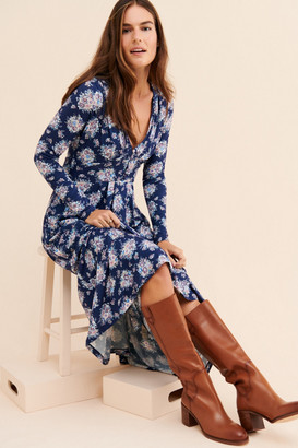 LoveShackFancy Min Floral Maxi Dress