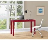 Altra Parsons Red XL Desk with 2 Drawers
