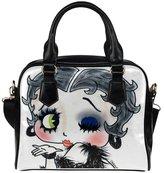 Angelinana Custom Women's Handbag Fashion Area Betty Boop 3 Fashion Shoulder Bag