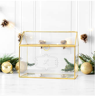 Cathy's Concepts Cathys Concepts Personalized Glass Terrarium Reception Gift Card Holder