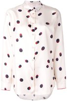 Paul Smith polka dot shirt - women - Silk - 42