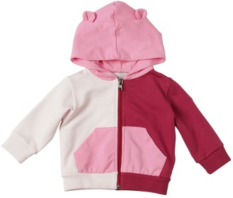 Moncler Color Block Hooded Cotton Sweatshirt