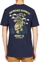 Insight Unfinished Business Graphic Muscle Tee