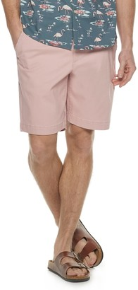 Sonoma Goods For Life Men's Regular-Fit Stretch 9-inch Twill Flat-Front Shorts