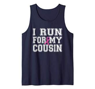 I Run For My Aunt Breast Cancer Awareness Tank Top
