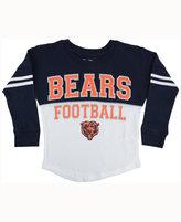 5th & Ocean Girls' Chicago Bears Sweeper Long-Sleeve T-Shirt