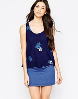 See by Chloe Swing Tank With Star Print