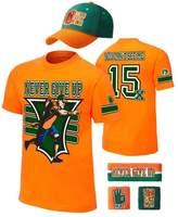 WWE John Cena Kids 15x Costume Hat T-shirt Wristbands Boys-YM