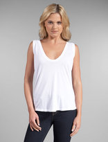 Deep Scoop V Sleeveless Tank