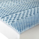 Isotonic Therapure 7-Zone 1.5 Memory Foam Mattress Topper