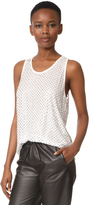 Marc Jacobs Allover Embellished Tank