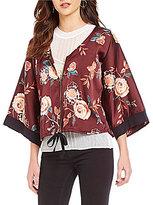 C & V Chelsea & Violet Printed Kabomber Jacket
