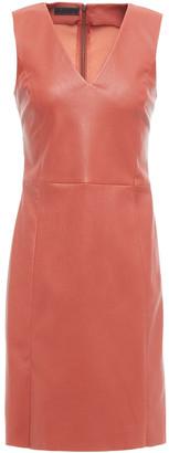 Drome Leather Mini Dress