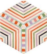 Kinder GROUND Hexagon Carpet - Stripe (3 piece Diamond)