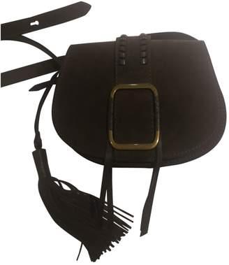 BA&SH Bash Spring Summer 2020 Khaki Suede Handbags