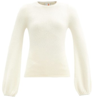 JoosTricot Swarovski Faux-pearl And Wool-blend Sweater - Ivory