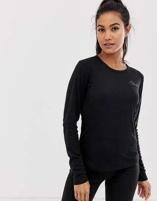 Dare 2b Ski Insulate long sleeve top in black