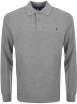 PS By Paul Smith Regular Polo T Shirt Grey